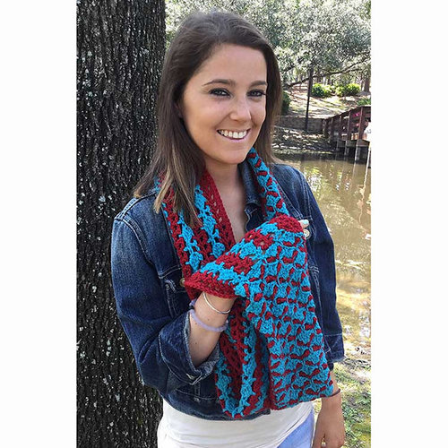Hooked for Life Filigree Cowl PDF -  ()