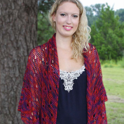 Hooked for Life Floating Butterflies Shawl PDF -  ()