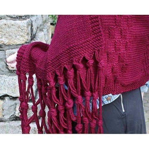 Hooked for Life Intermixture Shawl PDF -  ()