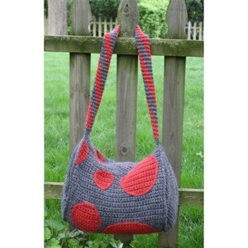 Hooked for Life Polka Dot Duffle Bag PDF -  ()