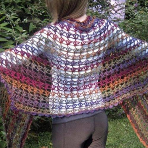 Hooked for Life Renee's Shawl PDF -  ()
