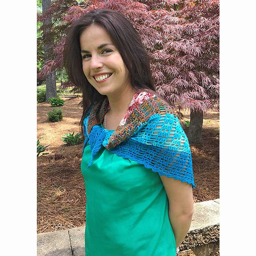 Hooked for Life Transition Shawl to Crochet PDF -  ()