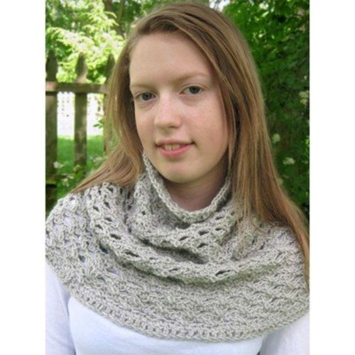Hooked for Life Twisty Cowl PDF -  ()