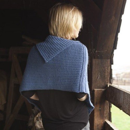 Imperial Yarn Andora Cape PDF -  ()