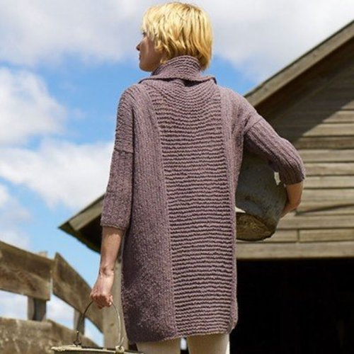 Imperial Yarn Essential Sweater Dress PDF -  ()