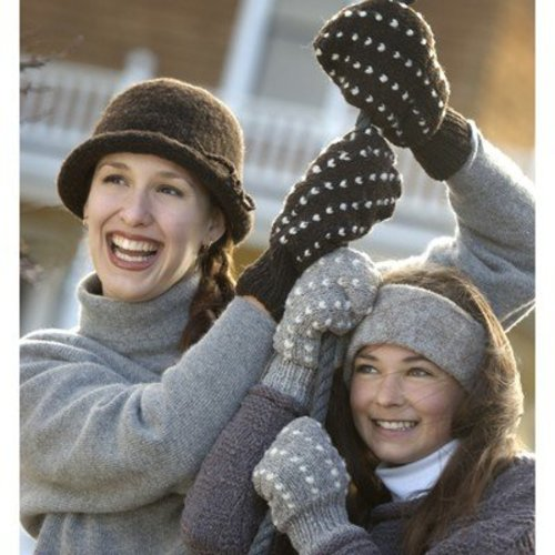 Imperial Yarn Thrum Mitten PDF -  ()