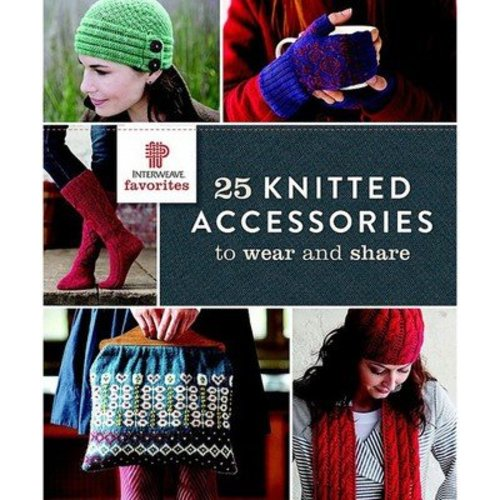 Interweave Favorites 25 Knitted Accessories -  ()