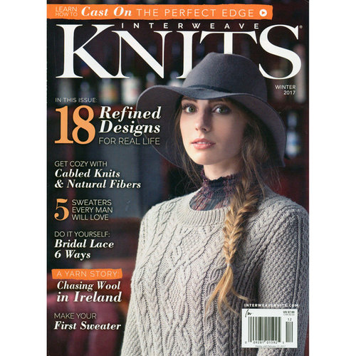 Interweave Knits Interweave Knits Magazine - Winter 2017 (WINTER17)