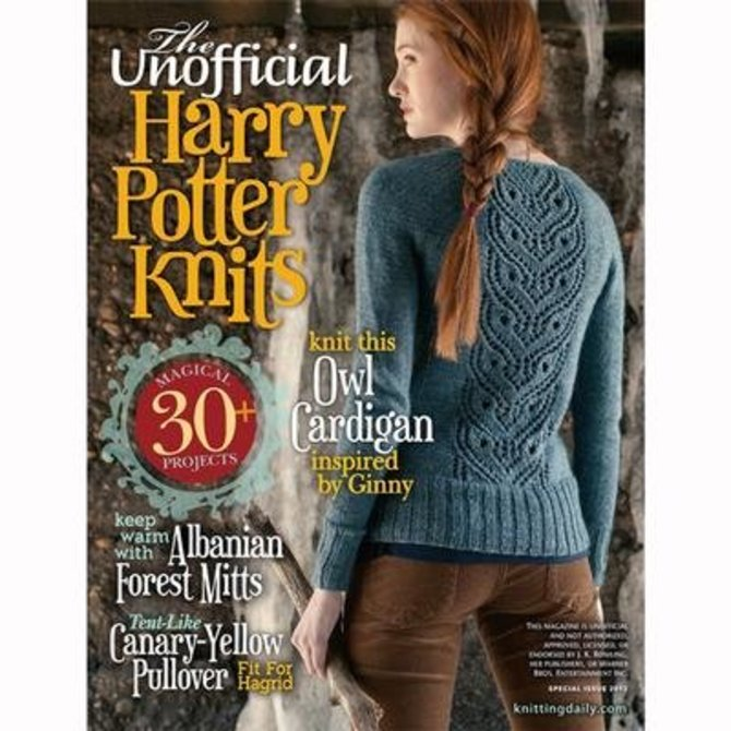 Interweave Knits Unofficial Harry Potter Knits 2013 Magazine At Webs