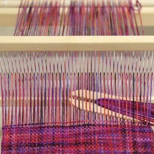 Introduction to Rigid Heddle Flip Loom Weaving, section 3 -  ()