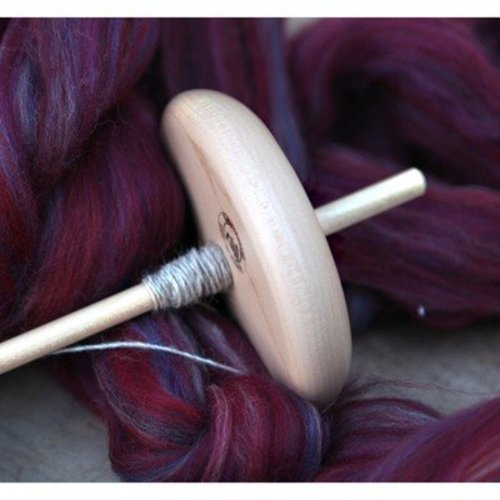 Introduction to Spinning on a Drop Spindle -  ()