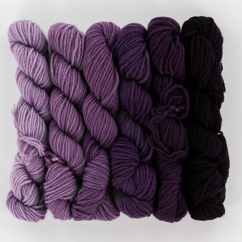 Jade Sapphire Mini Ombre Collection Kit Yarn At Webs