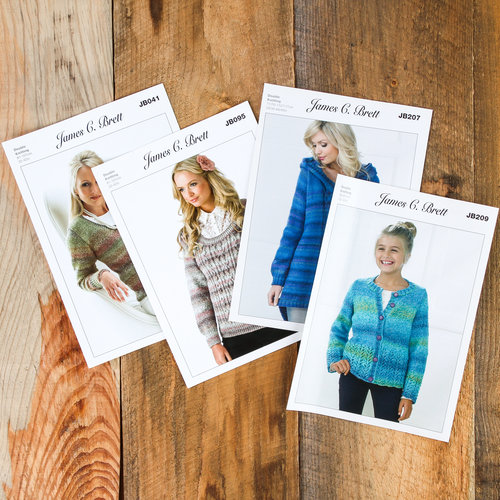James C. Brett Free Pattern 4 Pack -  ()