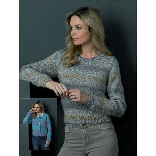 James C. Brett JB502 Cardigan and Sweater PDF -  ()
