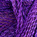 James C. Brett Marble Chunky Glamour - Purple (MCG1)
