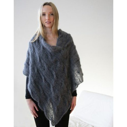 Jo Sharp Cable Mohair Poncho PDF -  ()