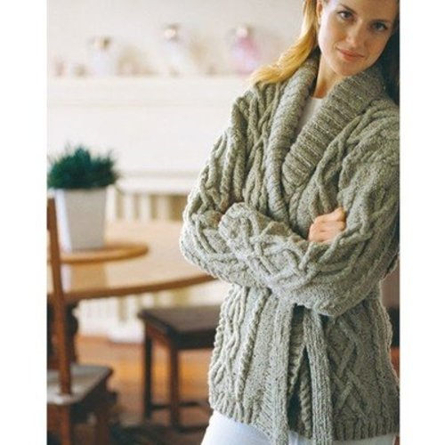 Jo Sharp Cable Wrap Cardigan PDF -  ()
