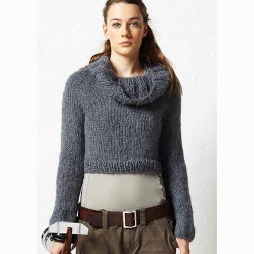Jo Sharp Cropped Yoke Sweater PDF -  ()