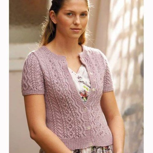Jo Sharp Lacy Cable Cardigan and Sweater PDF -  ()