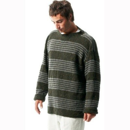 Jo Sharp Moss Stitch Sweater PDF -  ()
