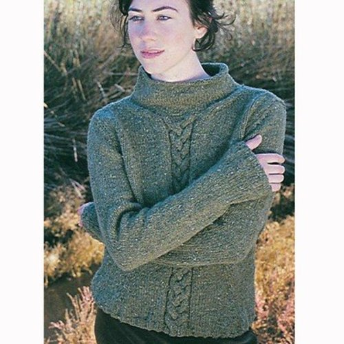 Jo Sharp Rebecca Cable Sweater PDF -  ()