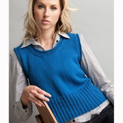 Jo Sharp Scoop Neck Vest PDF -  ()