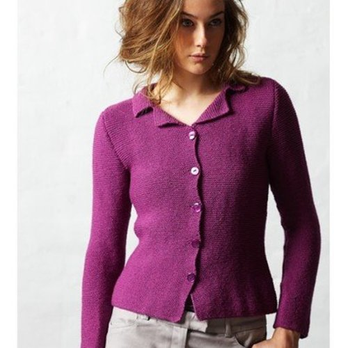 Jo Sharp Shaped Garter Jacket PDF -  ()
