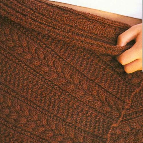 Jo Sharp Sunday Cable Blanket PDF -  ()