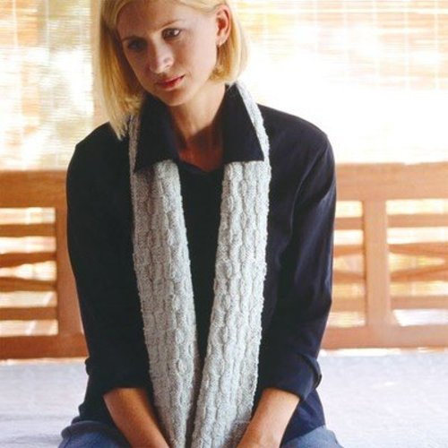 Jo Sharp Tunic and Chequer Scarf PDF -  ()