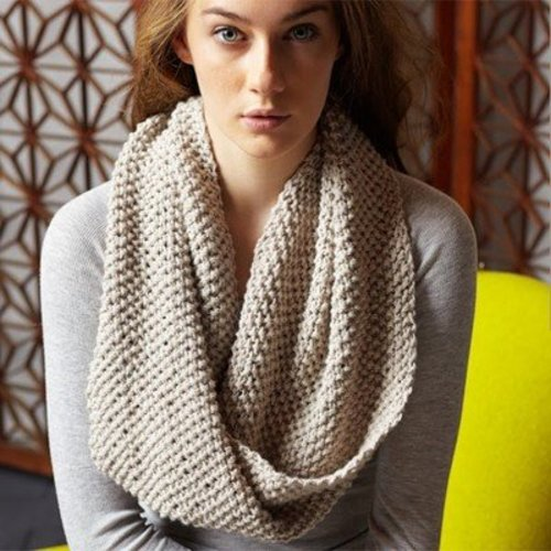 Jo Sharp Two Strand Moss Cowl PDF -  ()