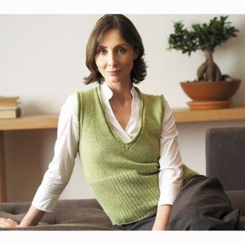 Jo Sharp V-Neck Vest PDF -  ()