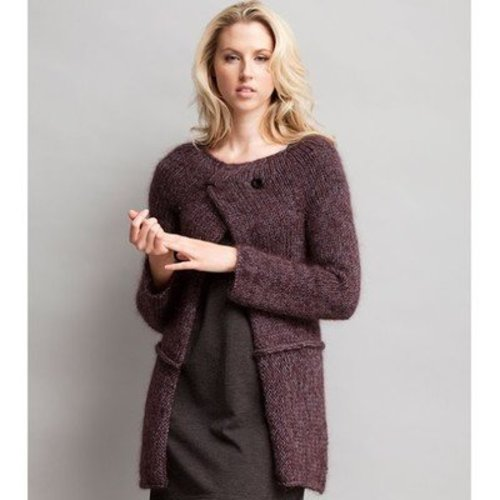 Jo Sharp Yoke Cardigan PDF -  ()