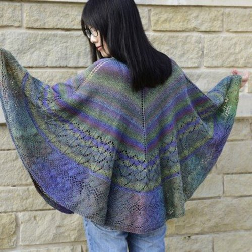 Jojoland Dragon Melody Shawl PDF -  ()