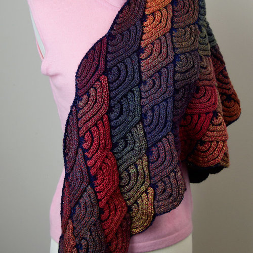 Jojoland Dragon Wing Shawl PDF -  ()