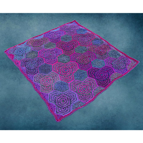 Jojoland Hidden Hexagon Blanket PDF -  ()