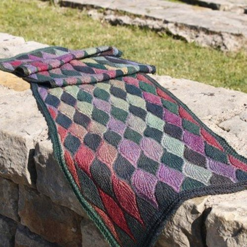 Jojoland Leaf Collection #3 Shawl in Melody PDF -  ()