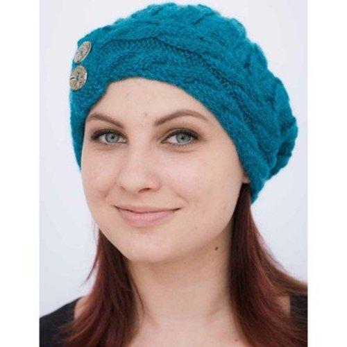 Juniper Moon Farm Cabled Cloche Hat - The Dales Collection - Download (CABLEDPDF)