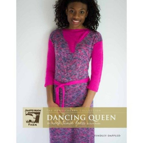 Juniper Moon Farm Dancing Queen V-Neck Tunic Dress - The Pondicherry Collection - Printed (DANCINGQUE)