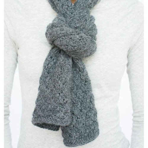 Juniper Moon Farm Etch Wide Scarf/Wrap - The Yorkshire Collection - PDF - Download (ETCHPDF)