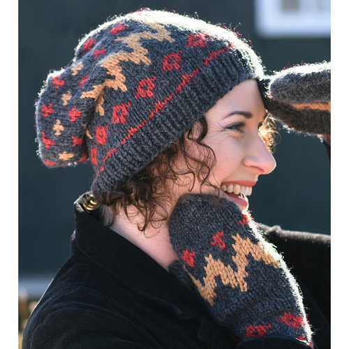 Juniper Moon Farm Gudrun Hat and Mittens PDF -  ()