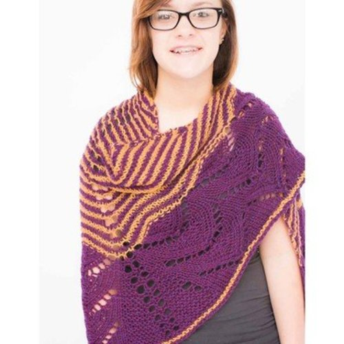 Juniper Moon Farm Royal Arches Shawl PDF - Download (ROYALPDF)