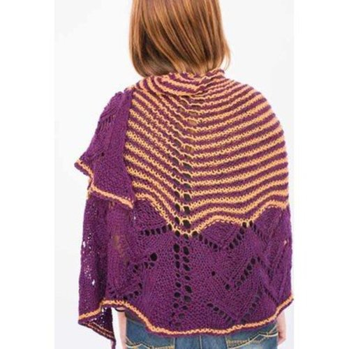 Juniper Moon Farm Royal Arches Shawl - The Dales Collection -  ()