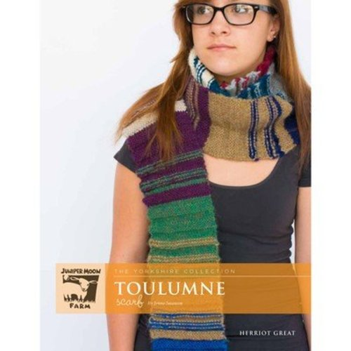 Juniper Moon Farm Toulumne Scarf - The Yorkshire Collection PDF - Download (TOULUMNPDF)