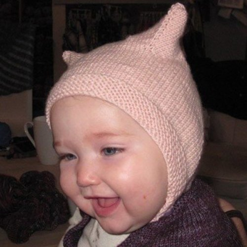 Kate Atherley Heirloom Baby Bonnet - With Ears PDF -  ()
