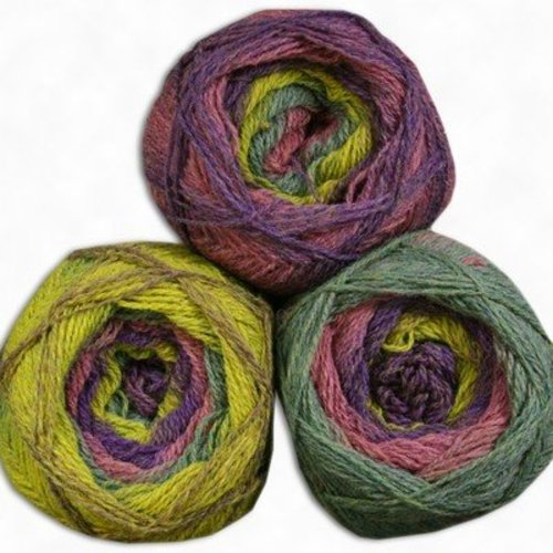 Kauni Effekt - EA purple, yellow, green, pink (EA)