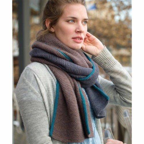 Kelbourne Woolens Basalt Wrap and Scarf PDF -  ()