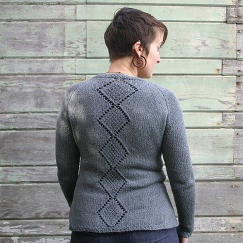 Kira K. Designs Diamond Back Cardigan PDF -  ()