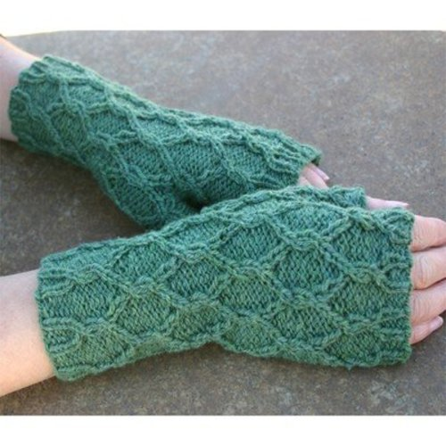 Kira K. Designs Reticulated Mitts PDF -  ()