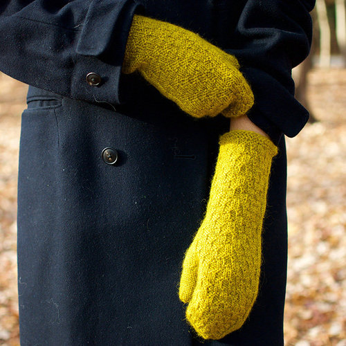 Kirsten Kapur Designs East 7th Street Mittens PDF -  ()