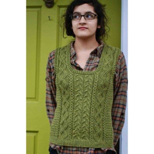 Kirsten Kapur Designs Wood Hollow Vest PDF -  ()